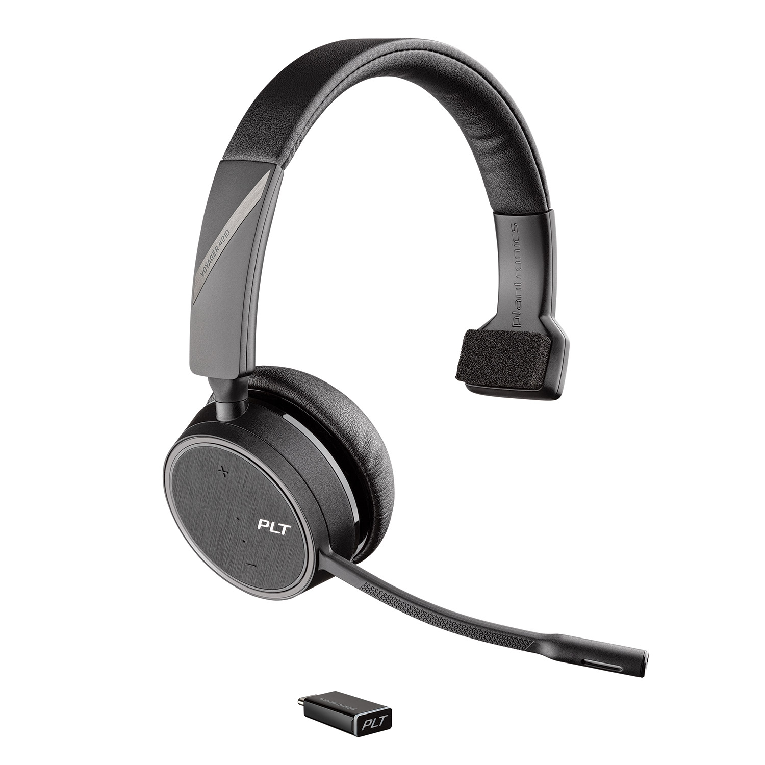 Image of Plantronics Voyager 4210 Mono Bluetooth Headset with USB-C Dongle