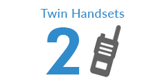 Twin Pack Two Way Radios