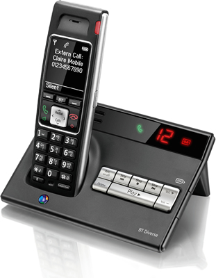 BT Diverse 7450 Plus Cordless Phone