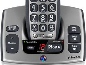 BT Freestyle 750 with Digital Answer Machine
