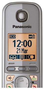 Panasonic KX-TG 6721 Cordless Phone