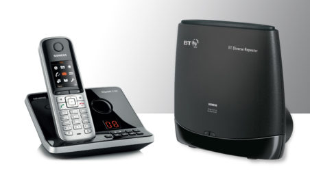 BT Diverse repeater to work with Siemens Gigaset?