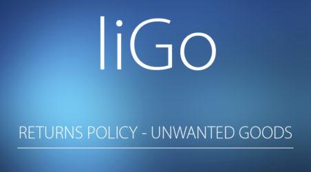 liGo return policy for unwanted items