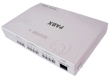 Orchid 308+ PBX 3-Line Phone System