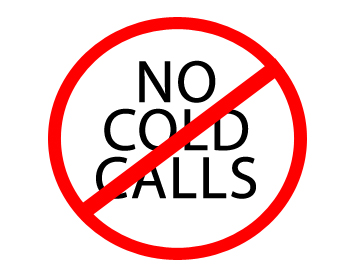 Stop cold calls