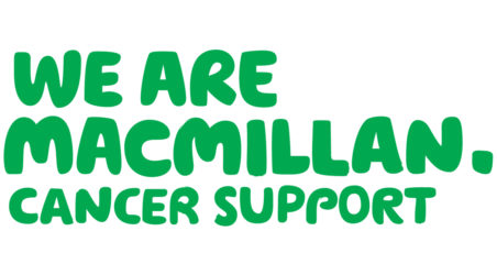 We support Macmillan Cancer Support