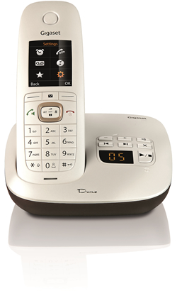 Gigaset Dune CL540A Cordless Phone with Digital Answer Machine