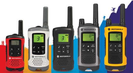 The latest range of Motorola TLKR Two-Way Radios