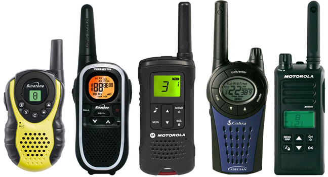 Top 5 Two-Way Radios
