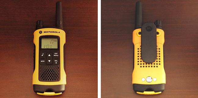 Motorola TLKR T80 Extreme 2-Way radios