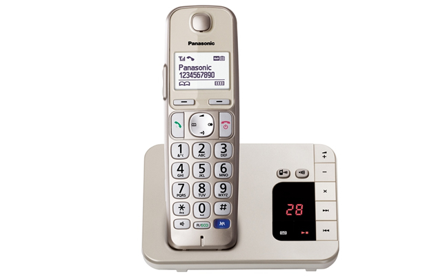 Panasonic KX-TGE220 Cordless Phone