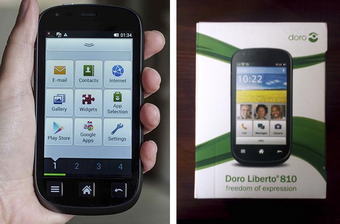 Liberto 810 - Screen & Camera