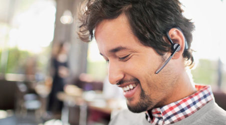Stay on the go with the new Plantronics Savi Go wireless headset.