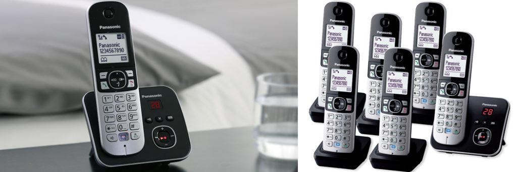sextets cordless phones