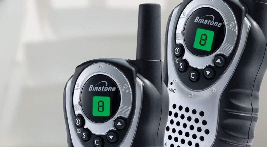 two way radios as part of an emergency kit