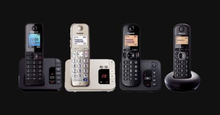 Panasonic announce 4 new Digital Cordless Phones