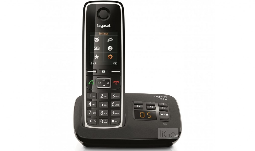 introducing Gigaset C530A front