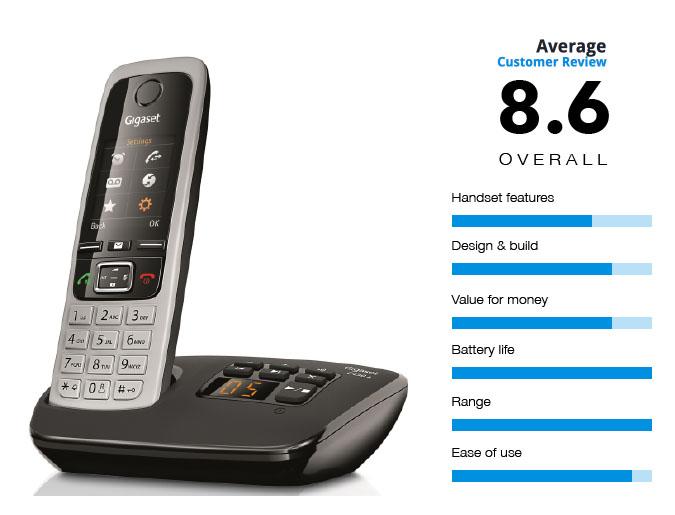 Gigaset C430A Long Range Cordless Phone
