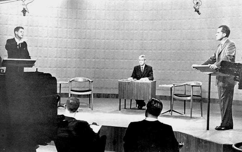 The Chair in Kennedy Nixon TV debate