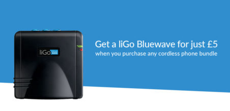 Get a liGo Bluewave for Just £5 with Selected Bundles