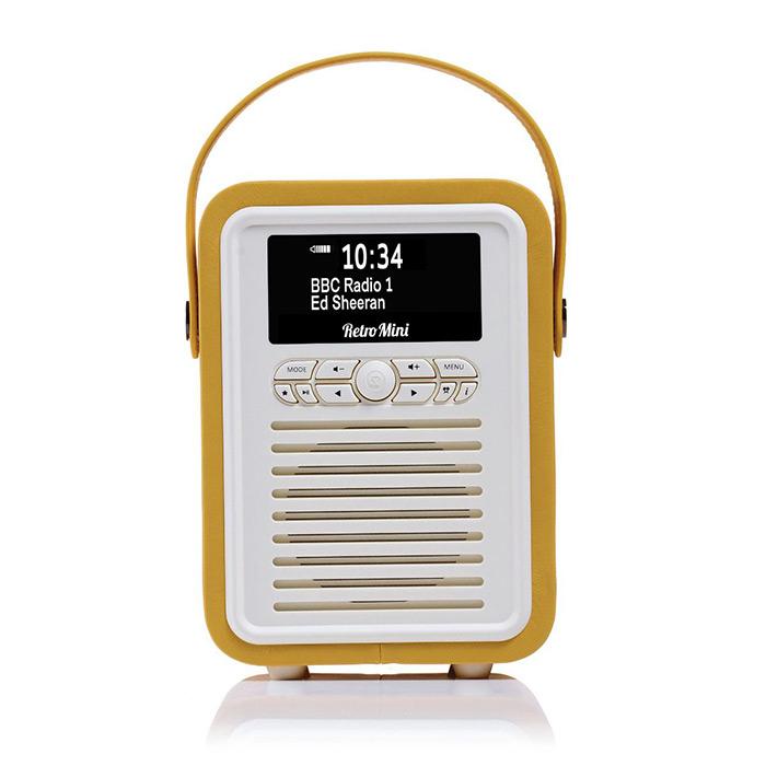 VQ Retro Mini Portable DAB Radio