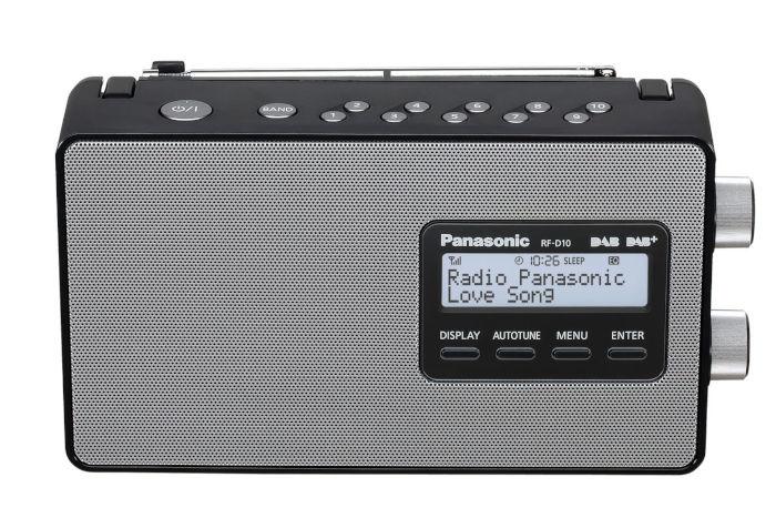 Panasonic RF-D10EB-K DAB Radio