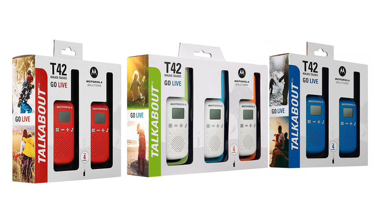 Motorola TALKABOUT T42 Colours