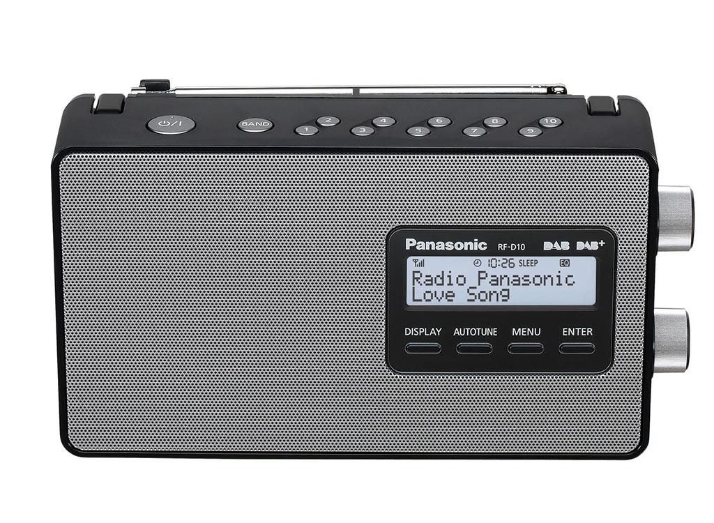 Panasonic RF-D10EB-K Design