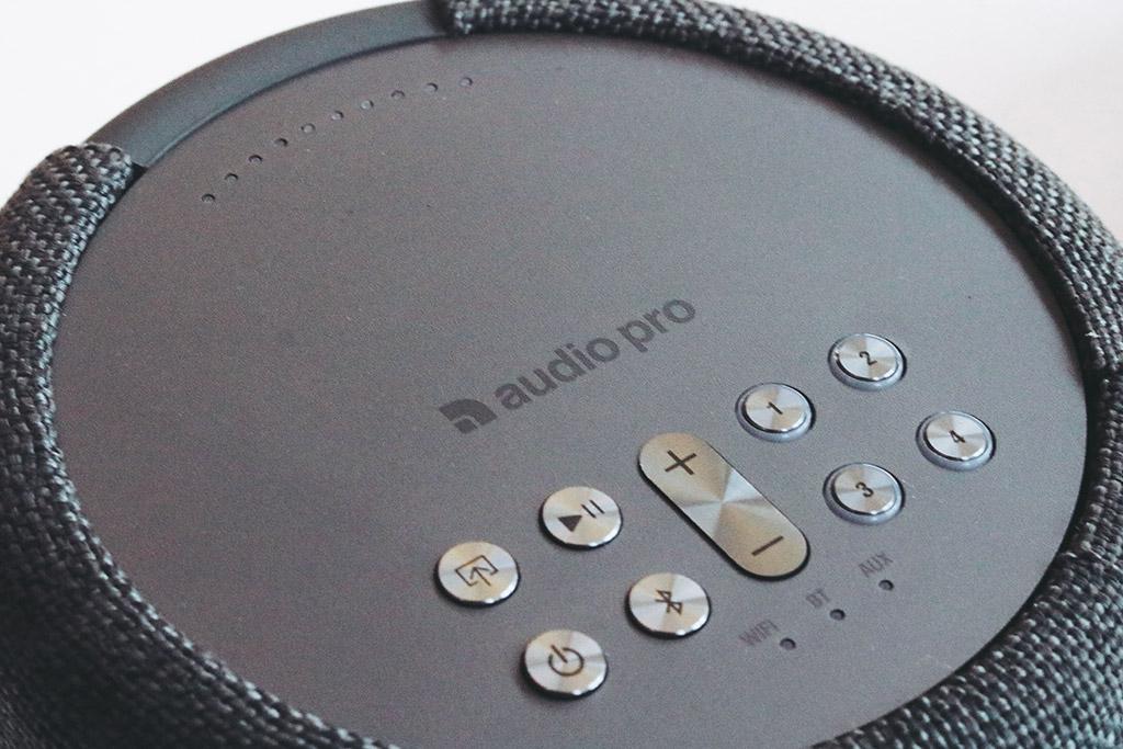 Audio Pro A10 Controls