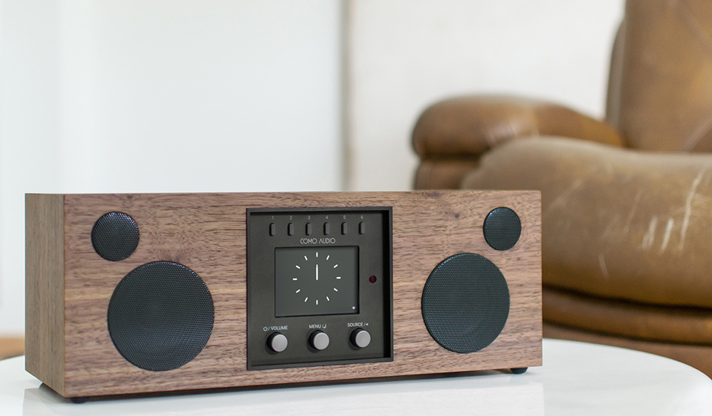 Como Audio Duetto Walnut Design