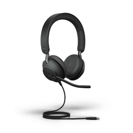 Jabra Evolve2 40 Stereo USB-A Corded Headset